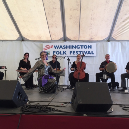 Saltanah at Washington Folk Festival